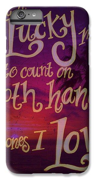 Stan's Beach 2 IPhone 6 Plus Case by Liz Martinez
