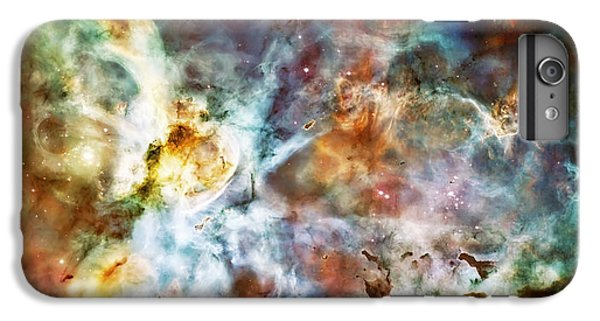 Star Birth In The Carina Nebula  IPhone 6 Plus Case by Jennifer Rondinelli Reilly - Fine Art Photography