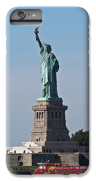 Statue Of Liberty IPhone 6 Plus Case by Rona Black