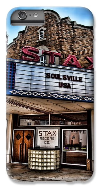 Stax Records IPhone 6 Plus Case by Stephen Stookey