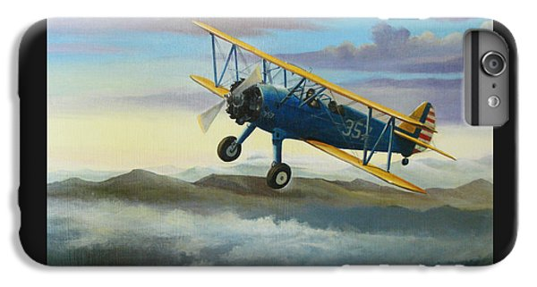 Stearman Biplane IPhone 6 Plus Case by Stuart Swartz