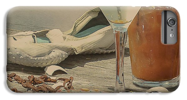 Still Life - Beach With Curves IPhone 6 Plus Case by Jeff Burgess