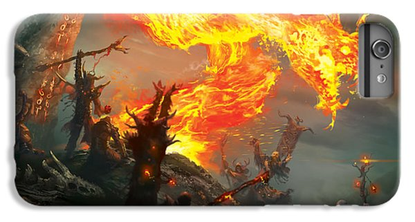 Stoke The Flames IPhone 6 Plus Case by Ryan Barger