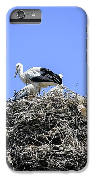 Storks Nesting IPhone 6 Plus Case by Photostock-israel