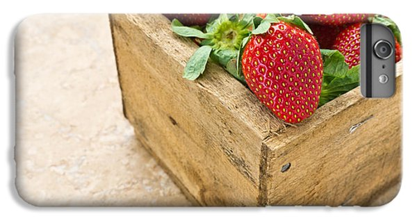 Strawberries IPhone 6 Plus Case by Edward Fielding