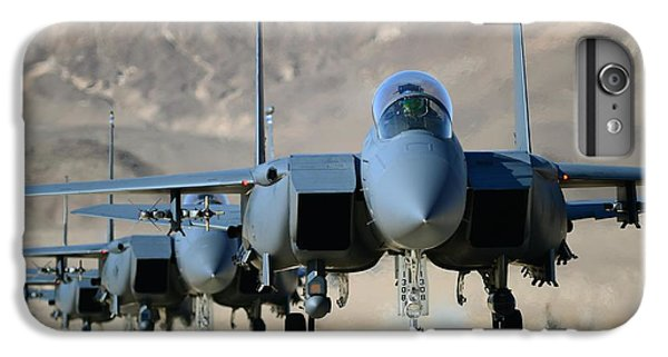 Strike Eagles IPhone 6 Plus Case by Master Sgt Lee Osberry