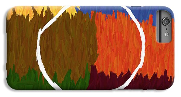 Strokes Of Colour IPhone 6 Plus Case by Condor