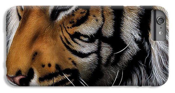 Sumatran Tiger Profile IPhone 6 Plus Case by Jurek Zamoyski