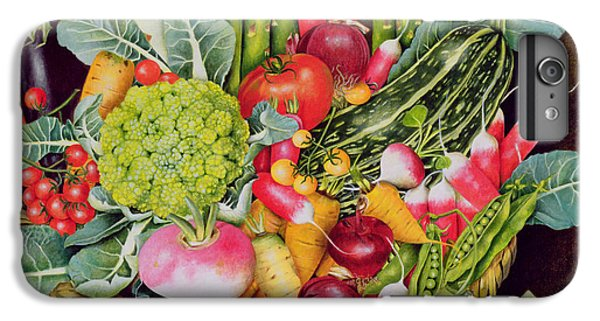Summer Vegetables IPhone 6 Plus Case by EB Watts