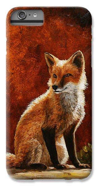 Sun Fox IPhone 6 Plus Case by Crista Forest