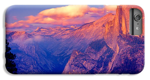 Sunlight Falling On A Mountain, Half IPhone 6 Plus Case by Panoramic Images