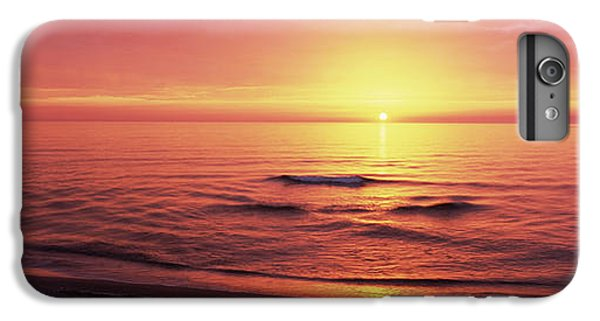 Sunset Over The Sea, Venice Beach IPhone 6 Plus Case by Panoramic Images