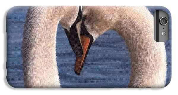 Swans Painting IPhone 6 Plus Case by Rachel Stribbling