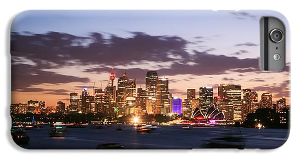 Sydney Skyline At Dusk Australia IPhone 6 Plus Case by Matteo Colombo