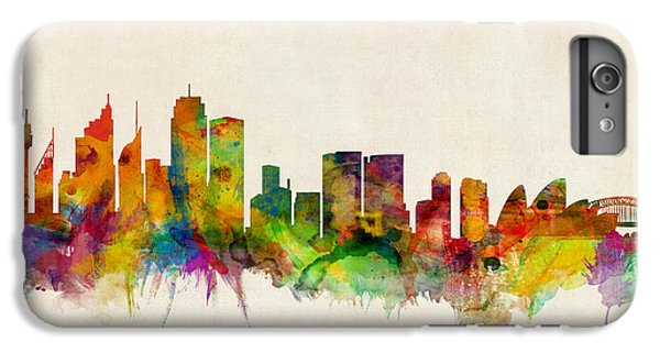 Sydney Skyline IPhone 6 Plus Case by Michael Tompsett