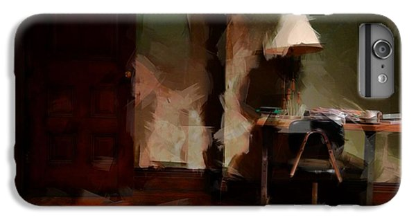 Table Lamp Chair IPhone 6 Plus Case by H James Hoff