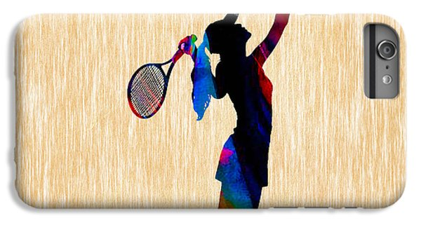 Tennis Game IPhone 6 Plus Case by Marvin Blaine