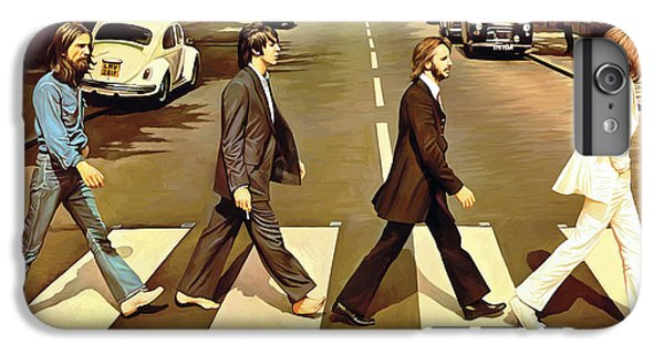 The Beatles Abbey Road Artwork IPhone 6 Plus Case by Sheraz A