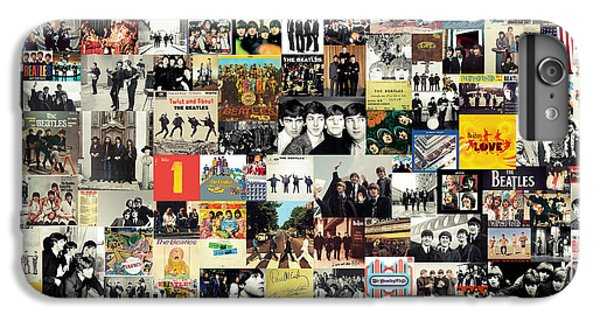 The Beatles Collage IPhone 6 Plus Case by Taylan Soyturk