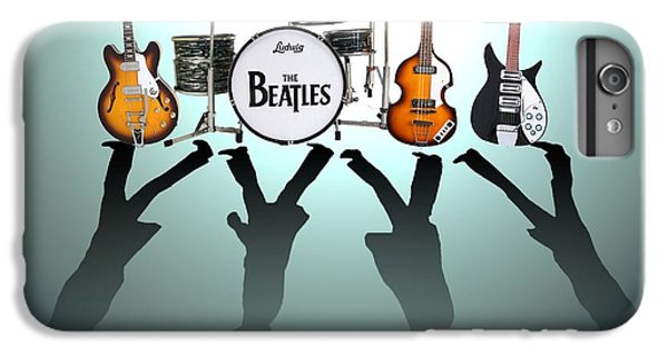 The Beatles IPhone 6 Plus Case by Lena Day