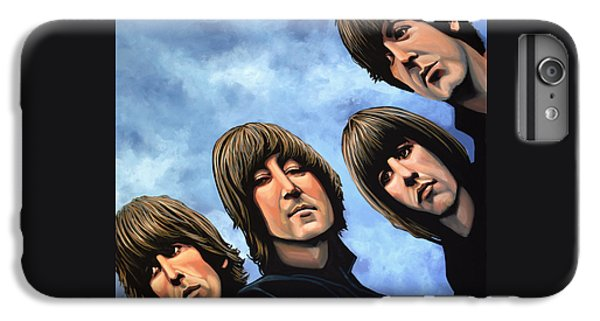 The Beatles Rubber Soul IPhone 6 Plus Case by Paul Meijering