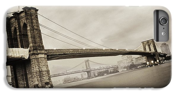 The Brooklyn Bridge IPhone 6 Plus Case by Eli Katz