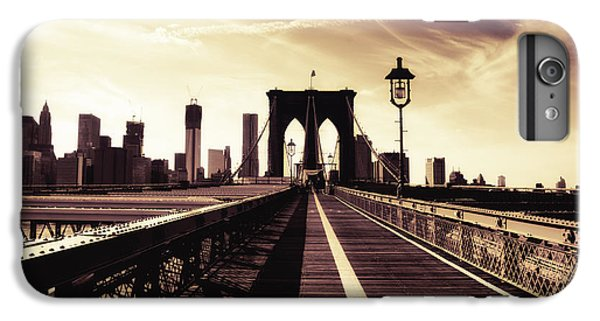 The Brooklyn Bridge - New York City IPhone 6 Plus Case by Vivienne Gucwa