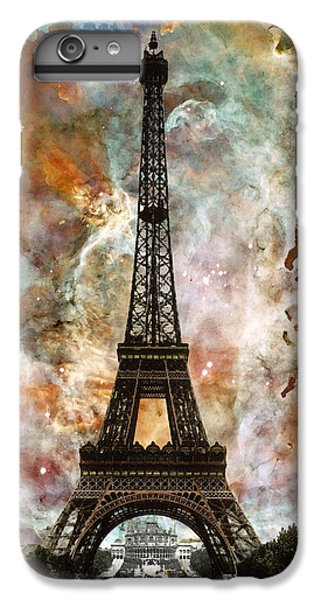 The Eiffel Tower - Paris France Art By Sharon Cummings IPhone 6 Plus Case by Sharon Cummings