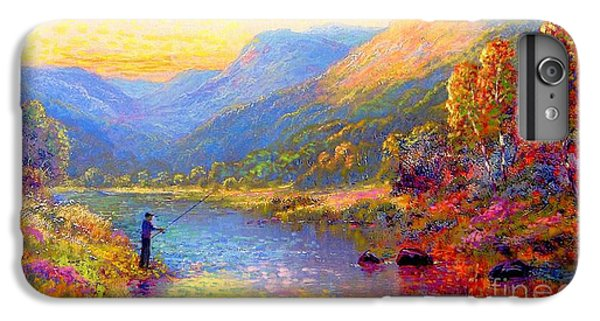 Fishing And Dreaming IPhone 6 Plus Case by Jane Small