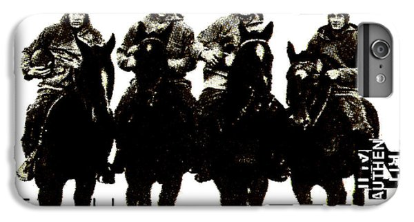 The Four Horsemen Of Notre Dame IPhone 6 Plus Case by David Patterson