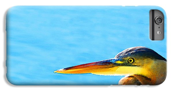 The Great One - Blue Heron By Sharon Cummings IPhone 6 Plus Case by Sharon Cummings