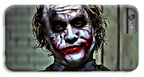 The Joker IPhone 6 Plus Case by Florian Rodarte