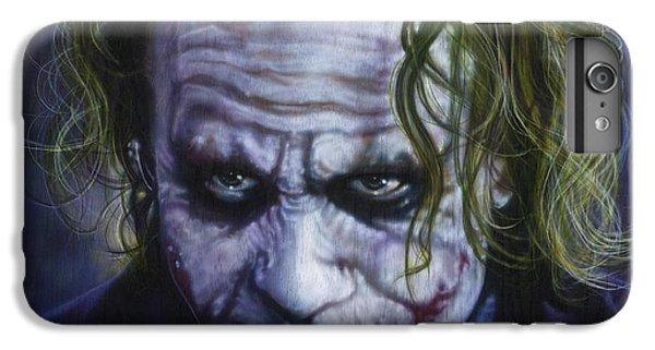 The Joker IPhone 6 Plus Case by Tim  Scoggins
