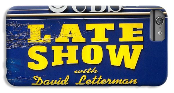 The Late Show With David Letterman IPhone 6 Plus Case by Kenneth Summers