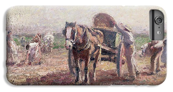 The Potato Pickers IPhone 6 Plus Case by Harry Fidler