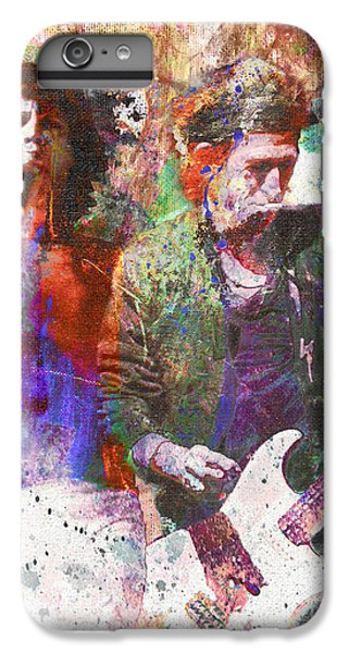 The Rolling Stones Original Painting Print  IPhone 6 Plus Case by Ryan Rock Artist