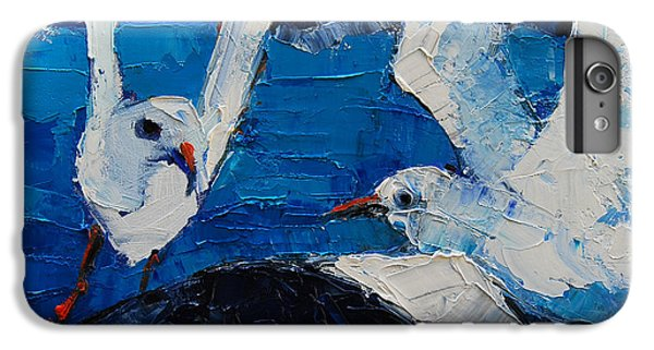 The Seagulls IPhone 6 Plus Case by Mona Edulesco