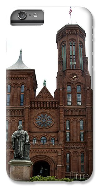 The Smithsonian - Washington Dc IPhone 6 Plus Case by Christiane Schulze Art And Photography