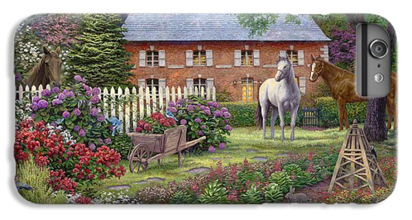 The Sweet Garden IPhone 6 Plus Case by Chuck Pinson