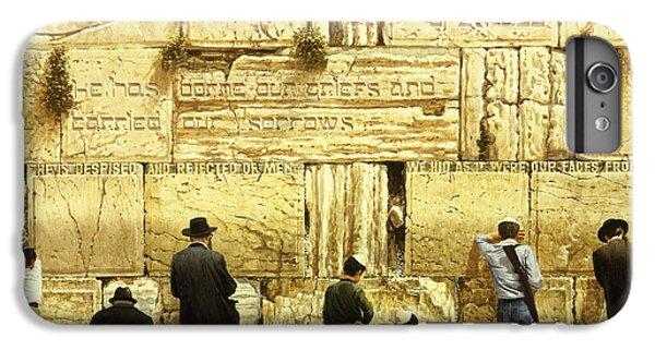 The Western Wall  Jerusalem IPhone 6 Plus Case by Graham Braddock