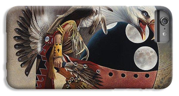 Three Moon Eagle IPhone 6 Plus Case by Ricardo Chavez-Mendez