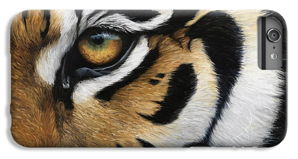 Tiger Eye IPhone 6 Plus Case by Lucie Bilodeau