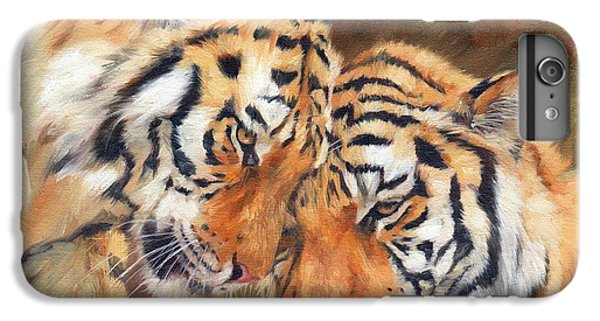 Tiger Love IPhone 6 Plus Case by David Stribbling