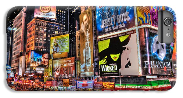 Times Square IPhone 6 Plus Case by Randy Aveille