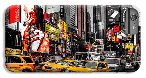 Times Square Taxis IPhone 6 Plus Case by Az Jackson