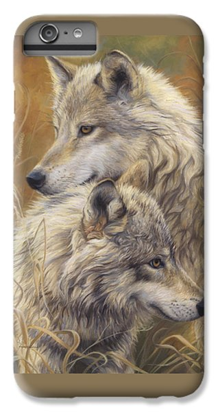 Together IPhone 6 Plus Case by Lucie Bilodeau