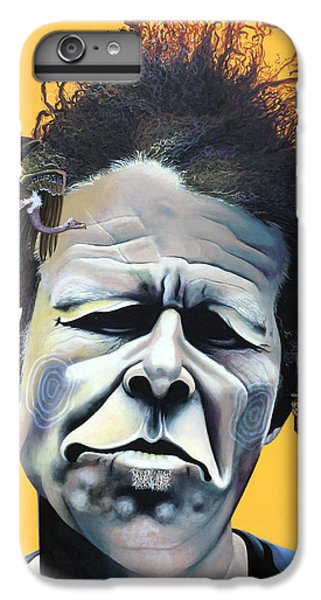 Tom Waits - He's Big In Japan IPhone 6 Plus Case by Kelly Jade King