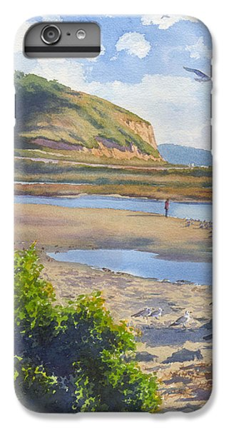 Torrey Pines Inlet IPhone 6 Plus Case by Mary Helmreich