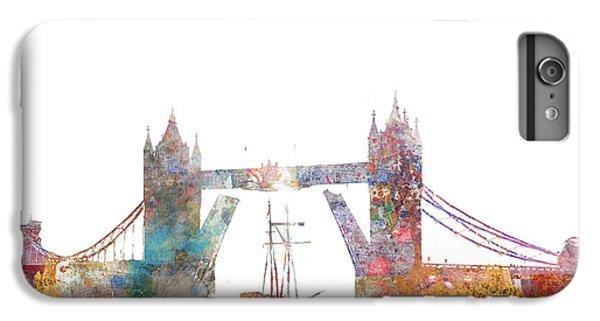 Tower Bridge Colorsplash IPhone 6 Plus Case by Aimee Stewart
