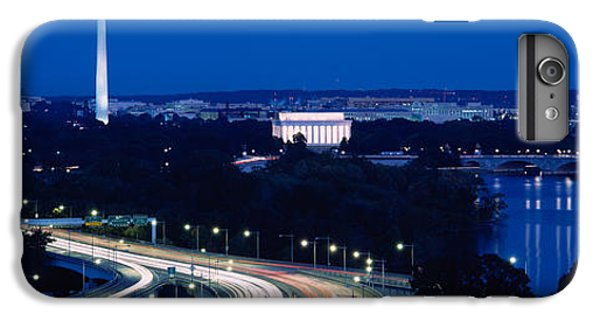 Traffic On The Road, Washington IPhone 6 Plus Case by Panoramic Images